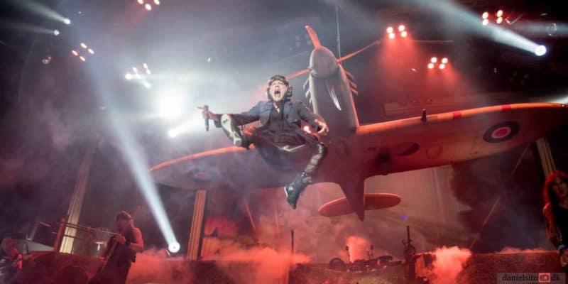 Majestætisk opvisning af Iron Maiden
