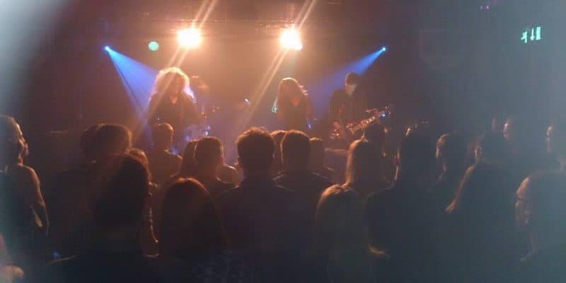 Dead Man's Hand live på Rust den 18.3.2016.