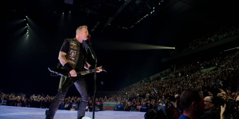 Metal(lica)kongerne erobrede Royal Arena