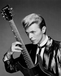 David Bowie - Foto: Ron Frazier
