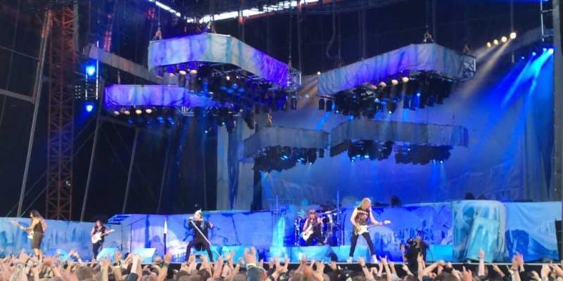 Koncert med Iron Maiden på Copenhell 2014