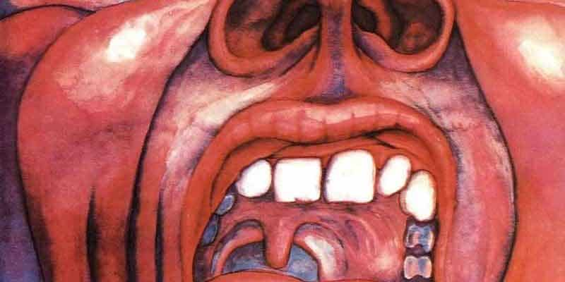 Cover fra King Crimson ‎- In The Court Of The Crimson King