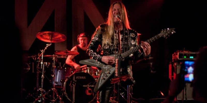 Gennemrutineret omgang 80'er heavy metal