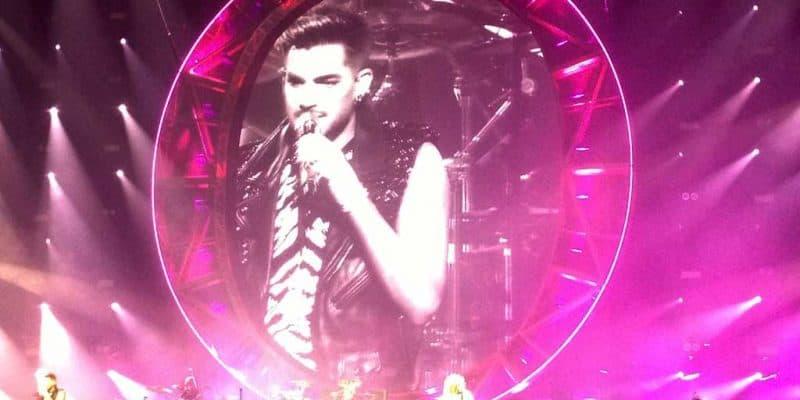 Queen concert in Canada