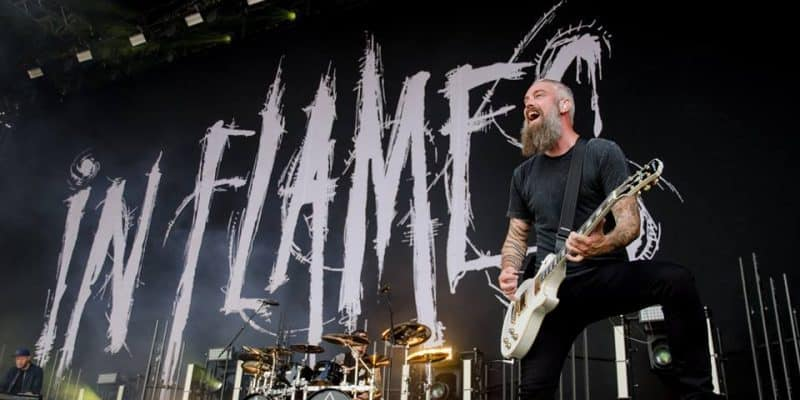 In Flames leverede massiv metal på Helvíti